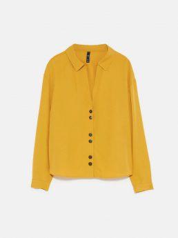Basic Swear Shirt Dark Yellow