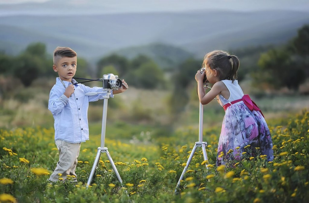 Little & cute photographers