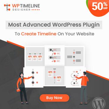 WP Timeline Designer PRO plugin